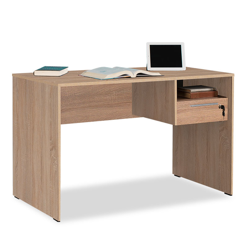 Concept Pakoworld Desk W Lock Drawer, Desk With Locking Drawers