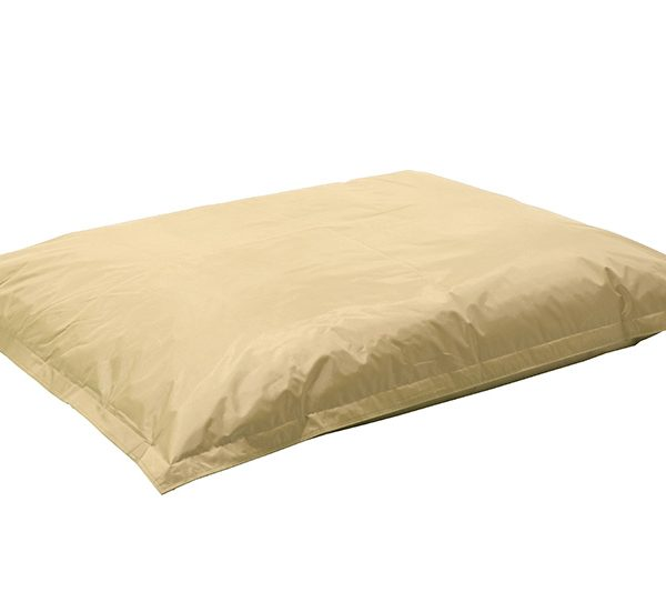 Πουφ μαξιλάρι Pigro pakoworld επαγγελματικό 100% αδιάβροχο μπεζ