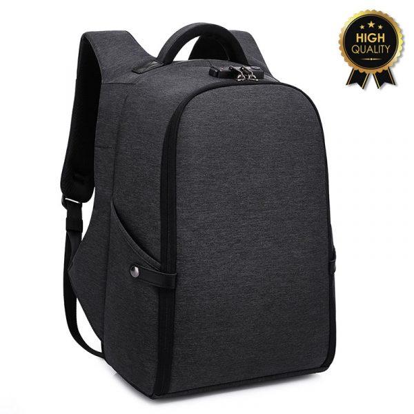Σακίδιο πλάτης αντικλεπτικό TRV-005 pakoworld μαύρο usb-lock laptop 15