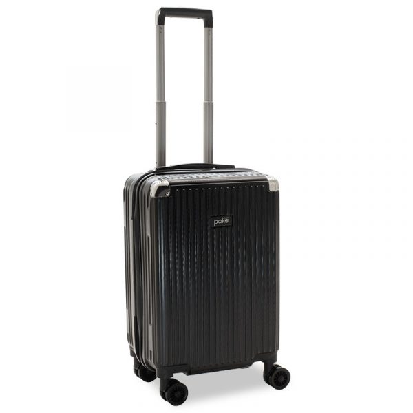 Venezia pakoworld hand luggage with 4 wheels hard ABS black 36