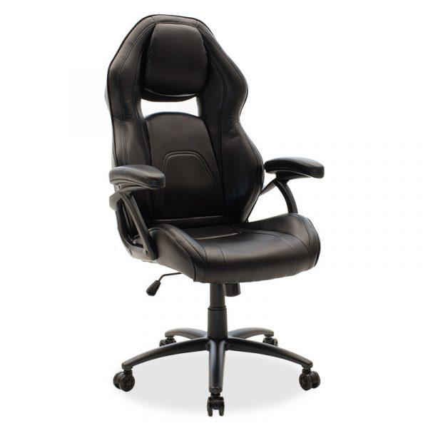 Καρέκλα γραφείου Schumacher gaming pakoworld pu μαύρο